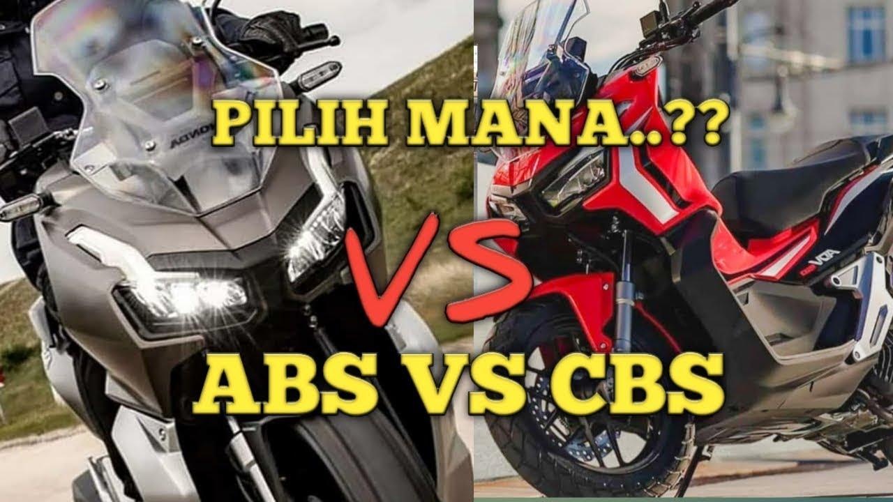 Perbedaan Motor Honda Adv 150 Abs Dan Cbs