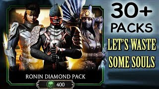 Mortal Kombat Mobile. HUGE Ronin Diamond Pack Opening. Why Am I SO UNLUCKY???