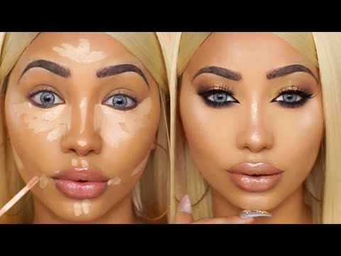 SWEATPROOF SUMMER GLAM MAKEUP TUTORIAL | Melly Sanchez