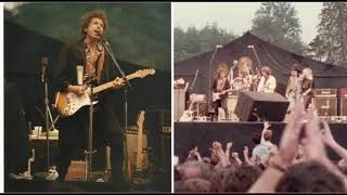 Bob Dylan with Guests at Slane Castle-13 songs from the last show of Dylan/Santana EuropeanTour 1984