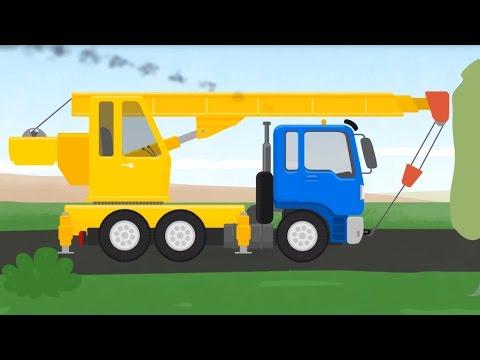 Doctora  Mac Wheelie. El CAMIóN - Transformer: Grúas,   Camiónes. Dibujo animado de Coches