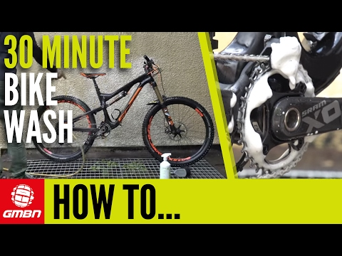 The 30 Minute Bike Wash – How To Clean Your BIke