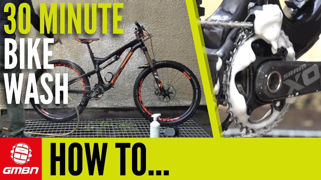 The 30 Minute Bike Wash – How To Clean Your BIke - YouTube 39bce72dd