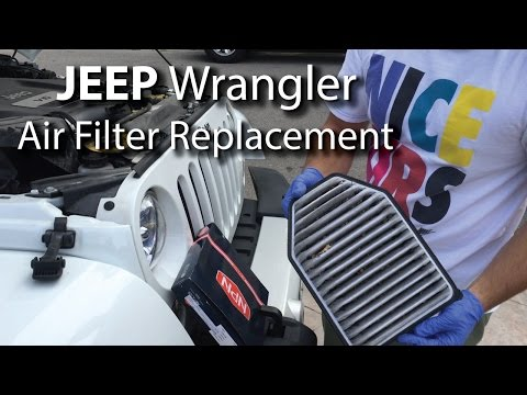 Jeep Wrangler: Air Filter Replacement, Save Money DIY!