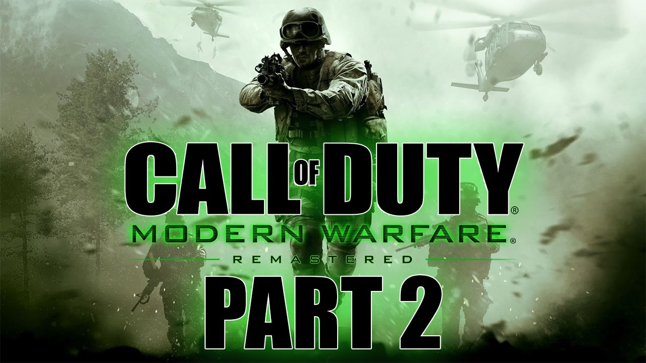 Call of duty modern warfare remastered let 39 s play for Modern house 7 part 2