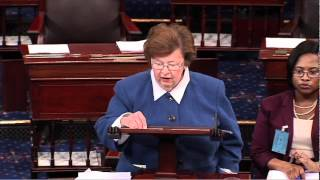 Mikulski Speaks Out on Senate Floor Urging Passage of Paycheck Fairness Act