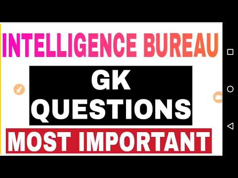 Intelligence Bureau IB ACIO Exam GK Questions in Hindi