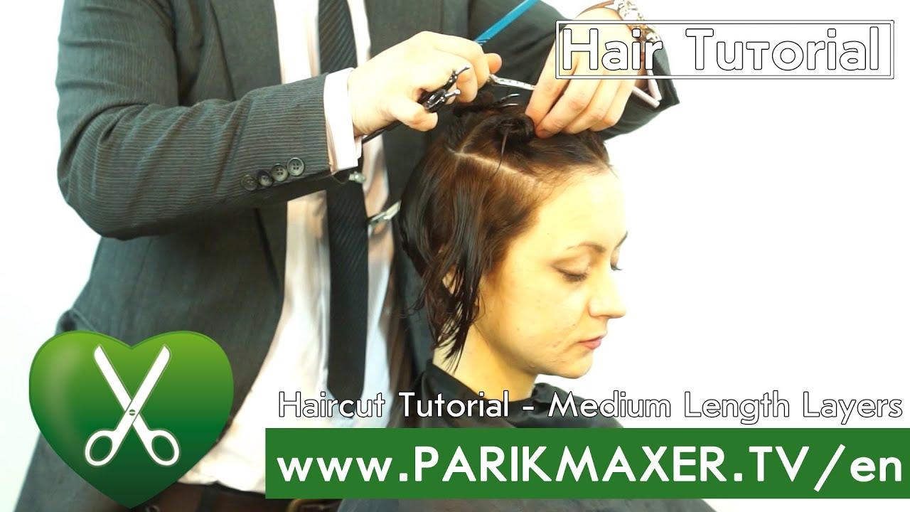 Haircut tutorial medium length layers parikmaxer tv english version haircut tutorial medium length layers parikmaxer tv english version youtube solutioingenieria Choice Image