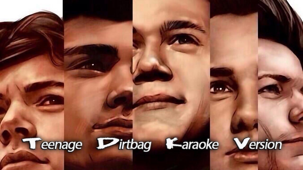 One Direction Teenage Dirtbag Lyrics | Teenage Dirtbag ...