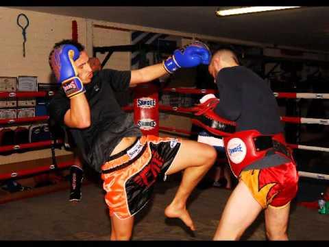 Agganciare Muay Thai boxe Ontario