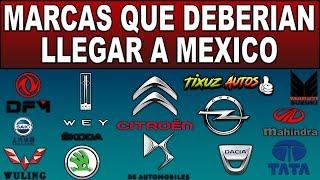 noticias y review de que marcas de autos  podrian venir a mexico / eduardo vargas