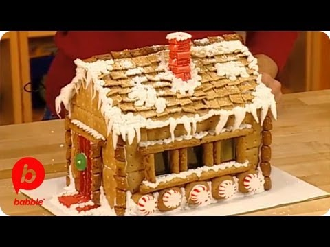 How To Make A Gingerbread House Graham Cracker Sugar Chalet
