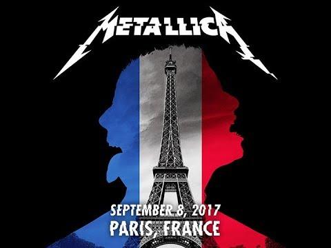 Metallica - Live In Paris, France - 9/08/17 [FULL CONCERT AUDIO LIVEMET]