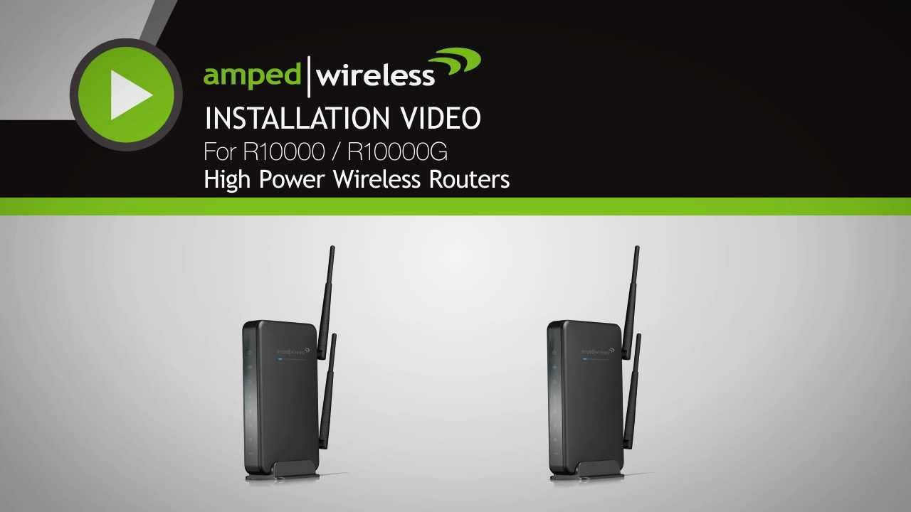 AMPED WIRELESS R10000G ROUTER WINDOWS 7 64 DRIVER