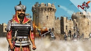 Stronghold Crusader - Mission 4 | Horses of Hattin,Battle on the Hill (Saladin's Conquest)