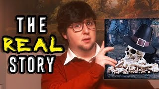 The REAL Story of the Pilgrims - JonTron (rus vo)