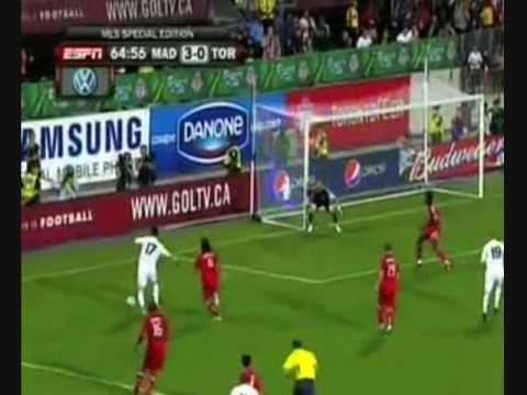 Real Madrid vs Toronto in Canada 08/2009