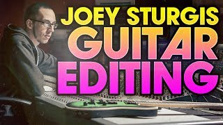 How to edit meтal guitars: Preserving PICK ATTACK w/ Joey Sturgis