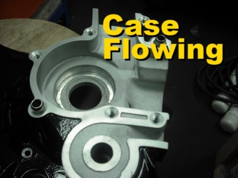 Crankcase flowing - Part 3 Doing the Grinding