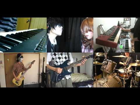 [HD]nichijou OP [Hyadain no Kakakata☆Kataomoi-C] Band cover