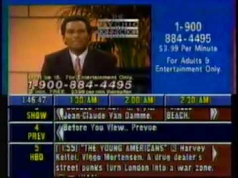 Prevue Channel Spetember 1, 1995 (part 2)