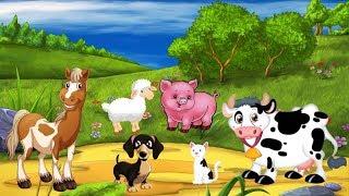 мультики для детей учим цвета разных животных learn colors animals