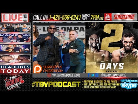 CALL IN! Floyd Mayweather Jr. vs. Conor McGregor Predictions, Who's the King?