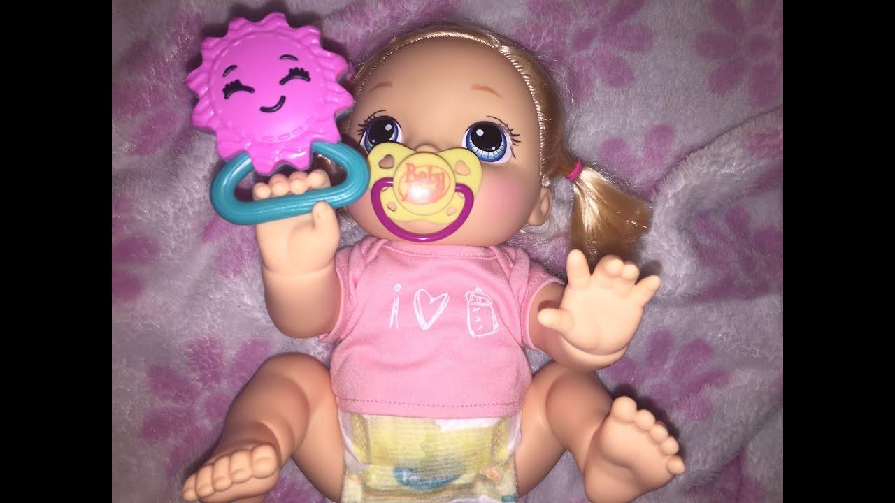 Baby Alive Baby Go Bye Bye Doll Youtube