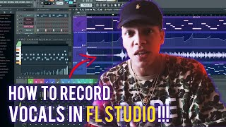 HOW TO RECORD VOCALS IN FL STUDIO FOR BEGINNERS 💜 (Fl Studio Vocal Recording Tutorial)