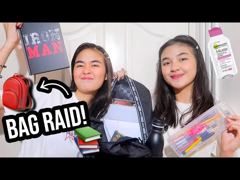 WHAT'S IN MY BACKPACK 2019! (Philippines) | Princess And Nicole