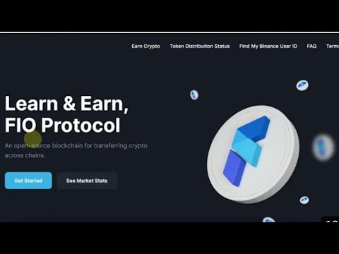 FIO Protocol Binance and Coinmarketcap Airdrop|| Don't miss