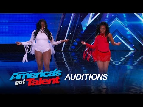 Gem City Jewels: Sassy Singers Add Nick Cannon to Their Group - America's Got Talent 2015