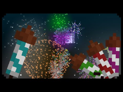 ✔ Minecraft: How to make Firework Rockets