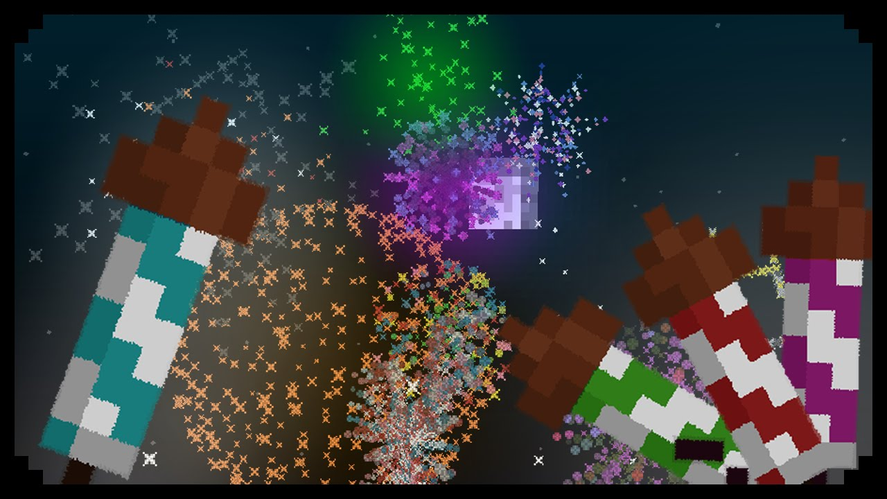 firework rocket minecraft - photo #41