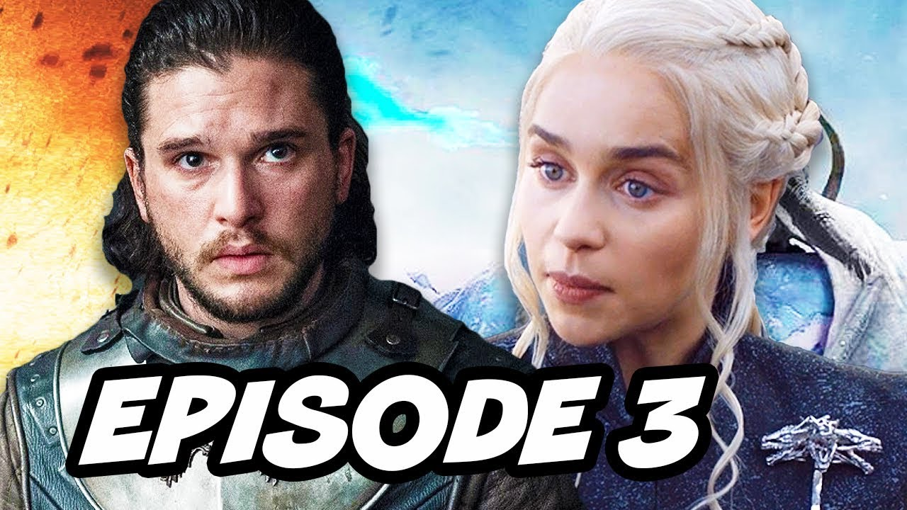 Download Game Of Thrones Season 7 Episode 3 - TOP 10 WTF and Easter Eggs