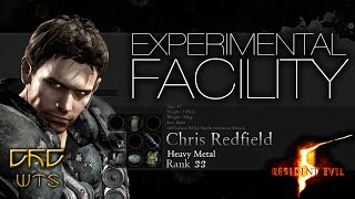 RE5 - Mercenaries Reunion Guide SS RANK Chris Heavy Metal - Experimental Facility [NARRADO]