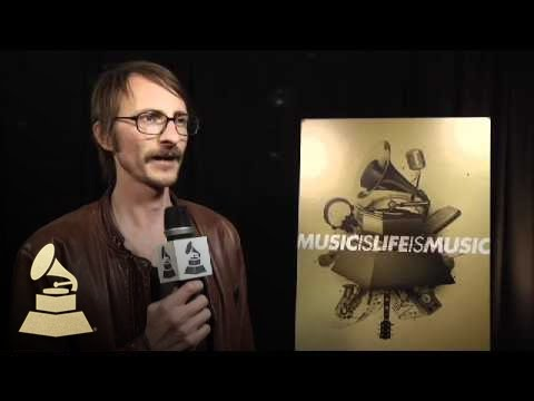 Bill Reynolds from Band of Horses backstage at the GRAMMY Nominations Concert Live! | GRAMMYs