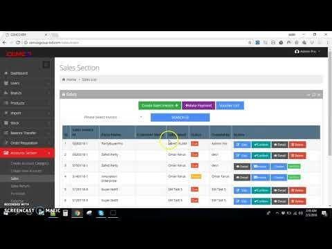 Web App Tutorial #3 Sales Invoice Create - YouTube - invoice web app