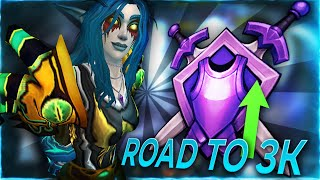 Pushing 3k Rating as a Frost Mage Godcomp! | Frost Mage WoW Shadowlands Arena | C9 Graycen