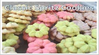 Classic Spritz Cookies (wilton Recipe)