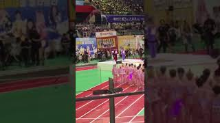 190812 NCT Mark and ITZY Yeji doing the oath@ ISAC2019