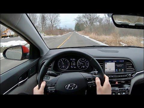 2020 Hyundai Elantra Limited - POV Test Drive (Binaural Audio)
