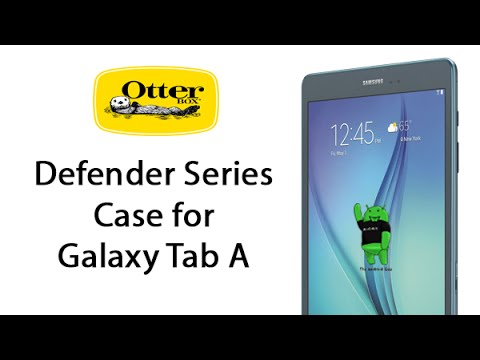 cheap for discount 016ab 6715e Otterbox Defender Case for Galaxy Tab A