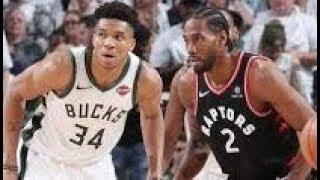 Milwaukee Bucks vs Tornoto Raptors_Game 2_NBA Playoffs 17 May 2019