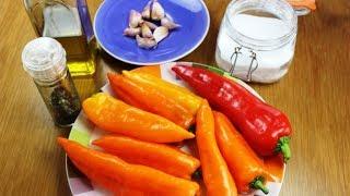 Сладкий перец по итальянски. Как вкусно приготовить Пепперони?