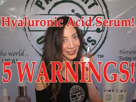 Hyaluronic Acid Serum *WARNING* 5 things to know before buying a bottle!