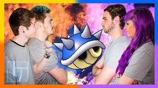 DanTDM & Syndicate v Ali-A & AshleyMariee - Mario Kart 8: 2V2 | Legends of Gaming