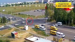 ДТП (авария г. Волжский) ул. Карбышева ул. Оломоуцкая 19-08-2019 09-33
