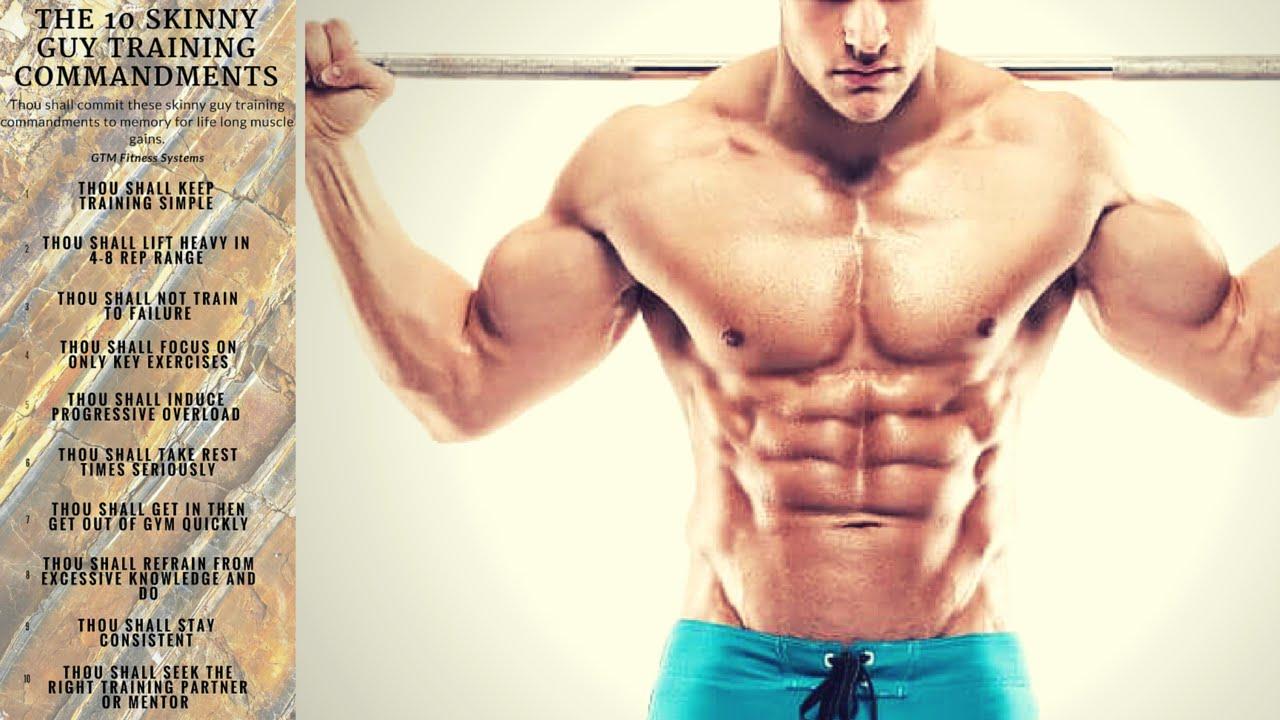 The 10 muscle commandments foto