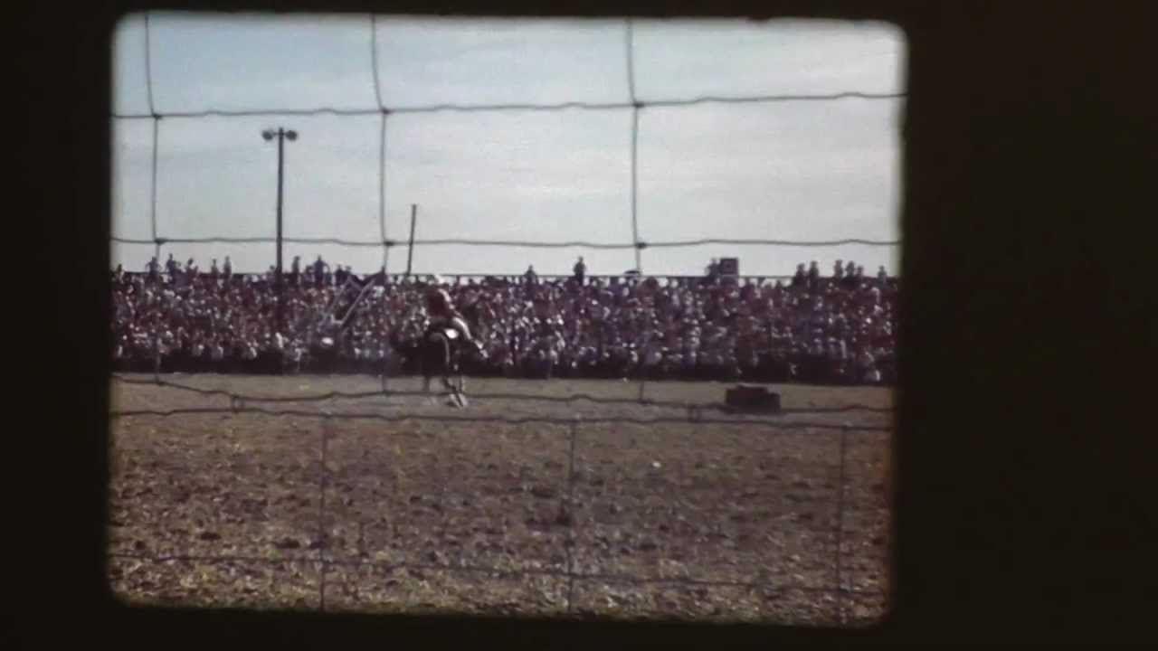 Gene Autry At Fort Madison Rodeo 1940 S Youtube